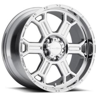 VISION WHEELS  RAPTOR 372 RWD OFF-ROAD PVD PHANTOM CHROME RIM