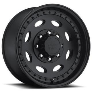 VISION WHEELS  HEAVY HAULER 81 MATTE BLACK RIM
