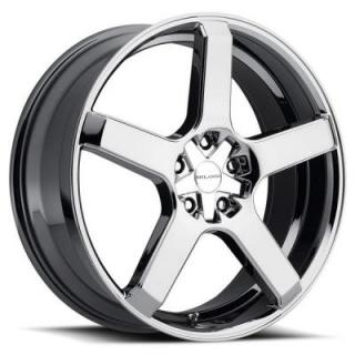 MILANNI WHEELS  VK-1 464 FWD PHANTOM CHROME RIM