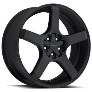 VK-1 464 FWD SATIN BLACK RIM from MILANNI WHEELS