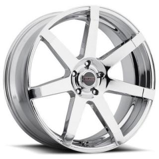 MILANNI WHEELS  SULTAN 9042 CHROME RIM