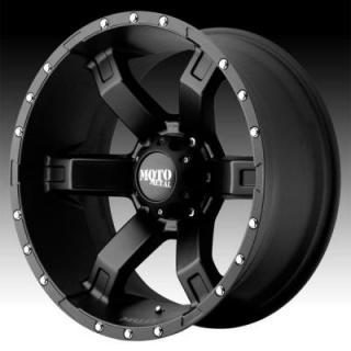MOTO METAL WHEELS  MO967 SATIN BLACK RIM with CLEAR COAT