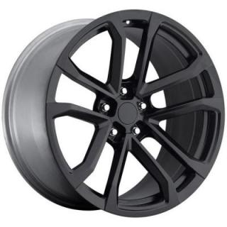 FACTORY REPRODUCTIONS WHEELS  CHEVY CAMARO ZL1 2012 STYLE 41 SATIN BLACK RIM