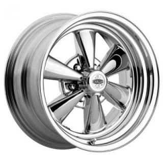 CRAGAR WHEELS  61C S/S 6-SPOKE CHROME RIM