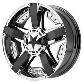 XD SERIES WHEELS  XD811 ROCKSTAR II PVD RIM with MATTE BLACK ACCENTS