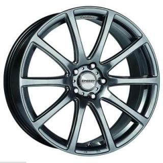 SPEEDY WHEELS  CARBINE HYPER DARK SILVER RIM