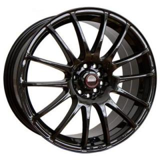 SPEEDY WHEELS  LITE FIN MATTE BLACK RIM