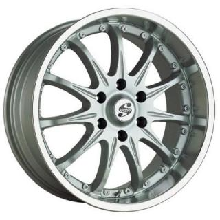 SPEEDY WHEELS  XTREME I SILVER RIM