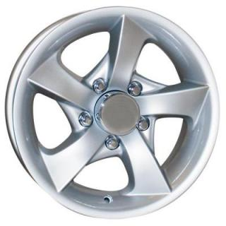 SENDEL WHEELS   S02 TRAILER SILVER RIM