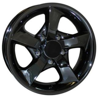 SENDEL WHEELS   S02 TRAILER BLACK CHROME RIM