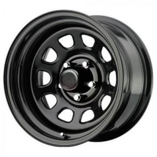 PRO COMP ALLOYS WHEELS  STEEL SERIES 51 FLAT BLACK RIM