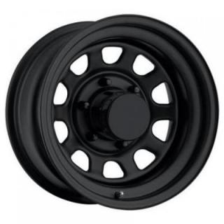 STEEL SERIES 52 FLAT BLACK RIM - Cap Not Included by PRO COMP ALLOYS WHEELS