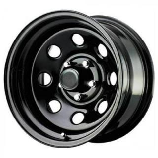 PRO COMP ALLOYS WHEELS  STEEL SERIES 97 FLAT BLACK RIM - Cap Not Included