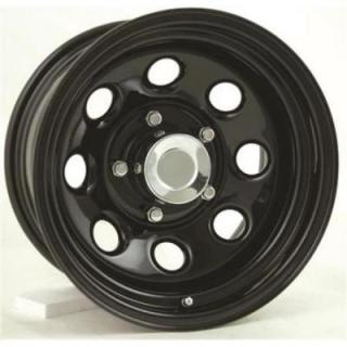 PRO COMP ALLOYS WHEELS  STEEL SERIES 98 GLOSS BLACK RIM - Cap Not Included