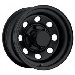 STEEL SERIES 98 FLAT BLACK RIM - Cap Not Included by PRO COMP ALLOYS WHEELS