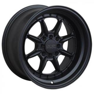 XXR WHEELS  002.5 FLAT BLACK RIM
