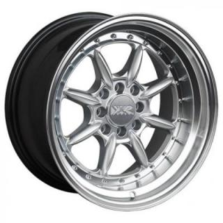 XXR WHEELS  002.5 HYPER SILVER RIM with MACHINED LIP