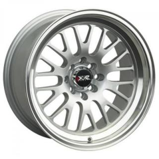 XXR WHEELS  531 HYPER SILVER RIM with MACHINED LIP