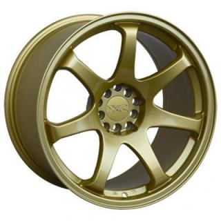 XXR WHEELS  551 GOLD RIM