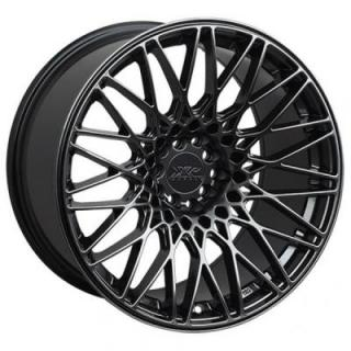 XXR WHEELS  553 CHROMIUM BLACK RIM