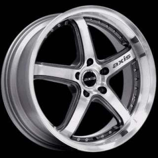 SPECIAL BUY WHEELS  AXIS SHINE ANTHRACITE MACHINED FACE PPT