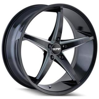 TR70 BLACK RIM with MILLED SPOKES by TOUREN WHEELS