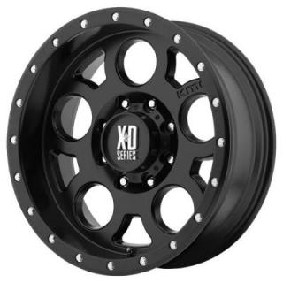 XD SERIES WHEELS  XD126 ENDURO PRO SATIN BLACK RIM