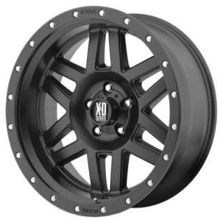 XD SERIES WHEELS  XD128 MACHETE SATIN BLACK RIM