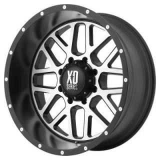 XD820 GRENADE SATIN BLACK RIM with MACHINED FACE from XD SERIES WHEELS