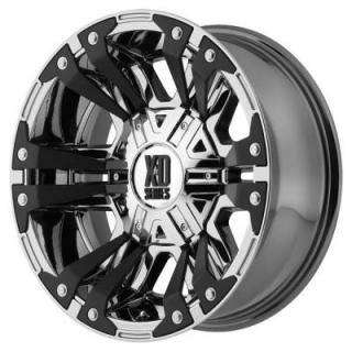 XD SERIES WHEELS  XD822 MONSTER II PVD RIM