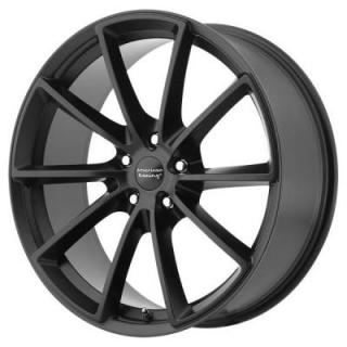 AMERICAN RACING WHEELS  VN806 FAST BACK SATIN BLACK RIM