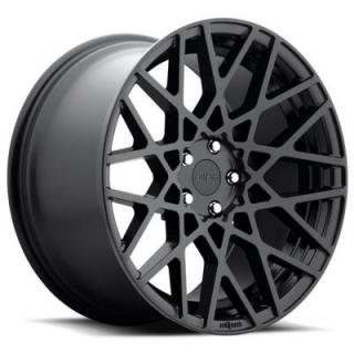 ROTIFORM CAST COLLECTION  BLQ R112 MATTE BLACK RIM