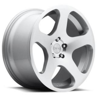 ROTIFORM CAST COLLECTION  NUE R115 SILVER MACHINED RIM