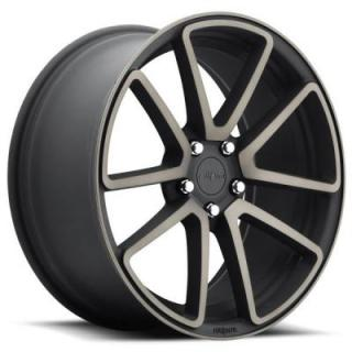 ROTIFORM CAST COLLECTION  SPF R121 BLACK MACHINED DDT RIM
