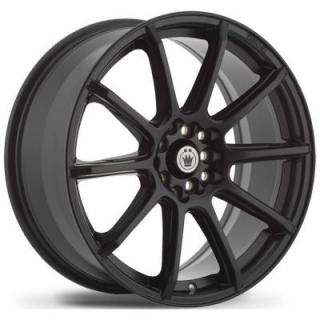 CONTROL MATTE BLACK RIM from KONIG WHEELS - EARLY BLACK FRIDAY SPECIALS!