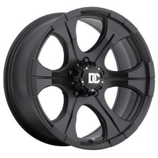 DC BLACKOUT MATTE BLACK RIM by DICK CEPEK WHEELS