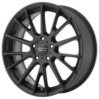AMERICAN RACING WHEELS  AR904 SATIN BLACK RIM