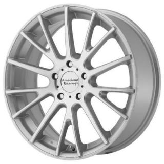 AMERICAN RACING WHEELS  AR904 SILVER RIM with MACHINED FACE