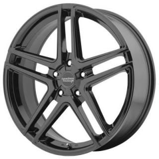 AR907 GLOSS BLACK RIM from AMERICAN RACING WHEELS