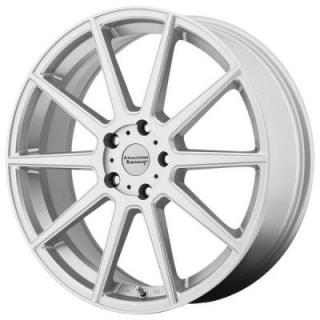 AMERICAN RACING WHEELS  AR908 SILVER RIM with MACHINED FACE