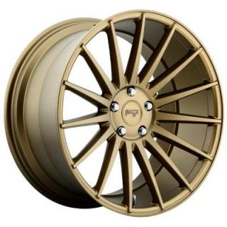 NICHE WHEELS  FORM M158 BRONZE RIM