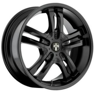 DUB WHEELS  PHASE 5 S106 SATIN BLACK RIM