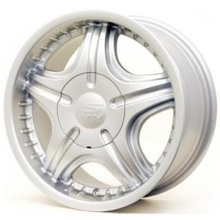 SPECIAL BUY WHEELS  SENDEL S06 SILVER RIM