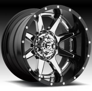 RAMPAGE D237 PVD and GLOSS BLACK RIM by FUEL TWO-PIECE SERIES
