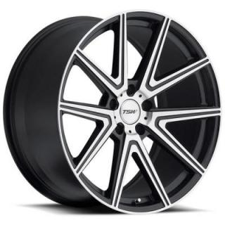 TSW WHEELS - OCT. SALE!  ROUGE GUNMETAL RIM with MIRROR CUT FACE