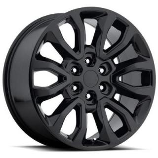 FACTORY REPRODUCTIONS WHEELS  FORD F150 RAPTOR STYLE 53 GLOSS BLACK RIM