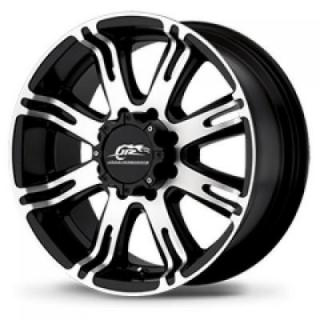 AMERICAN RACING AR708 MATTE BLACK RIM with MACHINED FACE PPT DISPLAY SET 1 SET ONLY from SPECIAL BUY WHEELS