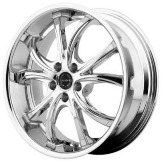 ABL-8 CHROME RIM by ASANTI WHEELS