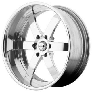 AMERICAN RACING WHEELS  VF496 FORGED POLISHED BRUSHED RIM