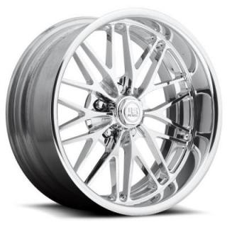 U436 SANTA CRUZ POLISHED RIM by U.S. MAG CUSTOM SHOP